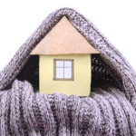 House under a scarf