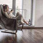 Relaxing indoors
